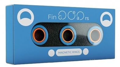 Магнитные кольца FinGears Magnetic Rings Sets Size L Blue-Orange